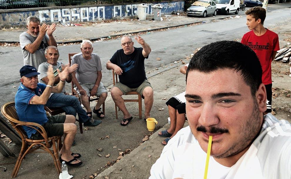 Selfie Agostino Ferrente